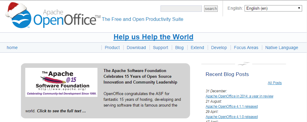 OpenOffice Word Processors Online
