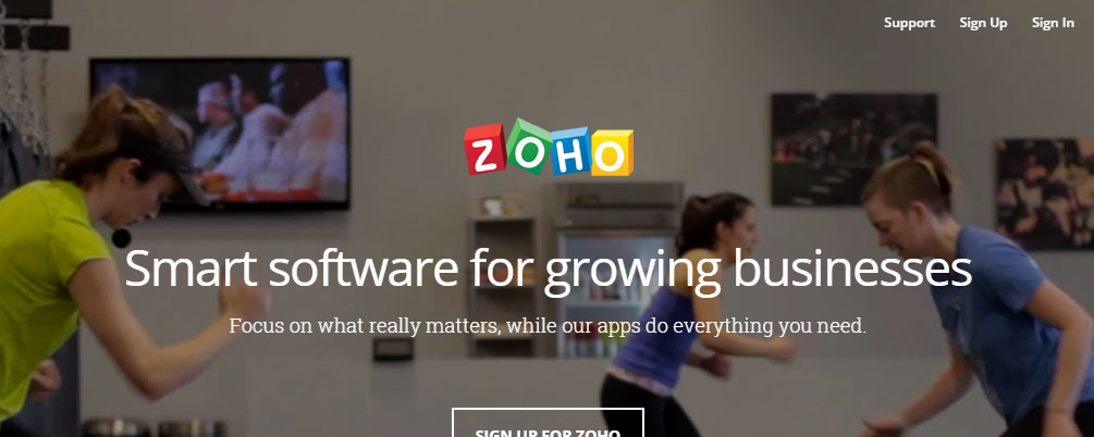 Zoho Word Processors Online